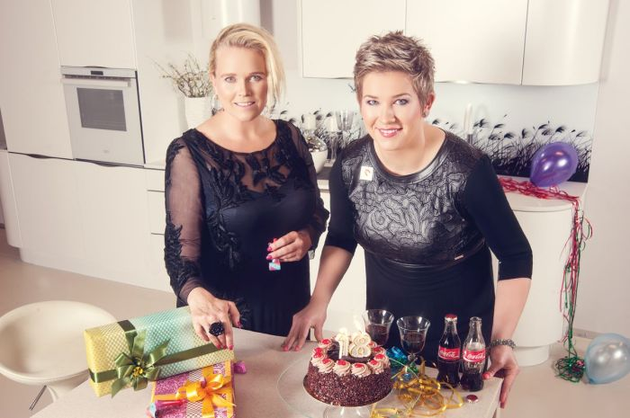 Anita Włodarczyk i Anna Jakubowski – dyrektor generalna Coca-Cola Poland Services